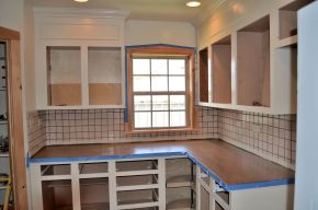 Diaries of a Kitchen Reno: Counters {Part7}